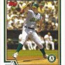 Barry Zito 2004 Topps #550 Oakland Athletics Baseball Card