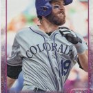 Charlie Blackmon 2015 Topps #34 Colorado Rockies Baseball Card