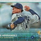 Felix Hernandez 2015 Topps #325 Seattle Mariners Baseball Card