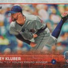 Corey Kluber 2015 Topps #487 Cleveland Indians Baseball Card