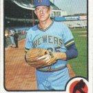 Frank Linzy 1973 Topps #286 Milwaukee Brewers Baseball Card