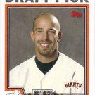 David Aardsma 2004 Topps Rookie #676 San Francisco Giants Baseball Card