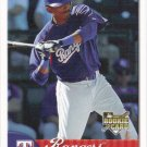 Joaquin Arias 2007 Fleer Rookie #369 Texas Rangers Baseball Card