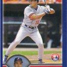 Peter Bergeron 2003 Topps #618 Montreal Expos Baseball Card