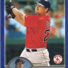 Jeremy Giambi 2003 Topps #494 Boston Red Sox Baseball Card