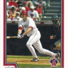 Troy Glaus 2004 Topps #401 Anaheim Angels Baseball Card