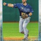 Nick Franklin 2015 Topps #446 Tampa Bay Rays Baseball Card