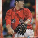 Junichi Tazawa 2015 Topps #458 Boston Red Sox Baseball Card