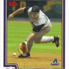 Shea Hillebrand 2004 Topps #634 Arizona Diamondbacks Baseball Card