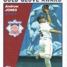 Andruw Jones 2004 Topps #711 Atlanta Braves Baseball Card