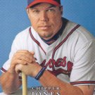 Chipper Jones 2008 Upper Deck First Edition #305 Atlanta Braves Baseball Card