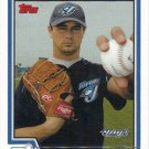 Ted Lilly 2004 Topps #617 Toronto Blue Jays Baseball Card