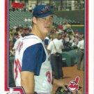 Ryan Ludwick 2004 Topps #458 Cleveland Indians Baseball Card