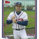 Eli Marrero 2004 Topps #476 Atlanta Braves Baseball Card
