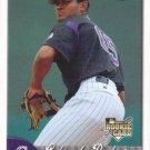 Juan Morillo 2007 Fleer Rookie #360 Colorado Rockies Baseball Card