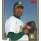Arthur Rhodes 2004 Topps #637 Oakland Athletics Baseball Card