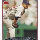 Johan Santana 2006 Topps #468 Minnesota Twins Baseball Card