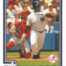 Ruben Sierra 2004 Topps #549 New York Yankees Baseball Card