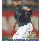 Brian Stokes 2007 Fleer Rookie #364 Tampa Bay Devil Rays Baseball Card