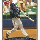 Rickie Weeks 2006 Topps #39 Milwaukee Brewers Baseball Card