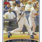 Jayson Werth 2006 Topps #109 Los Angeles Dodgers Baseball Card