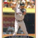 Randy Winn 2006 Topps #57 San Francisco Giants Baseball Card