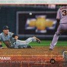 Joe Panik 2015 Topps #449 San Francisco Giants Baseball Card