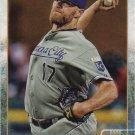 Wade Davis 2015 Topps #454 Kansas City Royals Baseball Card