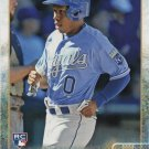 Terrance Gore 2015 Topps Rookie #617 Kansas City Royals Baseball Card