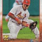 Kolten Wong 2015 Topps #588 St. Louis Cardinals Baseball Card