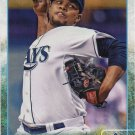 Alex Colome 2015 Topps #396 Tampa Bay Rays Baseball Card
