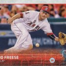 David Freese 2015 Topps #610 Los Angeles Angels Baseball Card