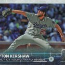 Clayton Kershaw 2015 Topps #451 Los Angeles Dodgers Baseball Card