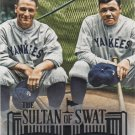 Babe Ruth 2015 Topps Sultan of Swat #RUTH-5 New York Yankees Baseball Card
