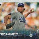 Clayton Kershaw 2015 Topps #545 Los Angeles Dodgers Baseball Card
