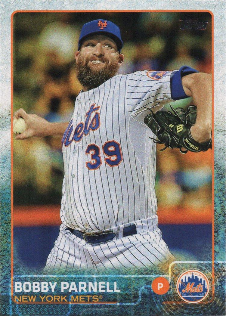 Bobby Parnell 2015 Topps Update #US10 New York Mets Baseball Card