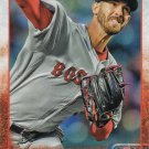 Rick Porcello 2015 Topps Update #US362 Boston Red Sox Baseball Card