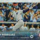 Alex Rodriguez 2015 Topps Update #US33 New York Yankees Baseball Card