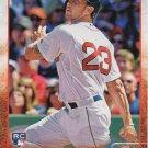 Blake Swihart 2015 Topps Update Rookie #US32 Boston Red Sox Baseball Card