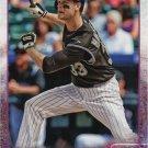 Justin Morneau 2015 Topps #657 Colorado Rockies Baseball Card