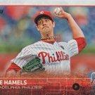 Cole Hamels 2015 Topps #10 Philadelphia Phillies Baseball Card