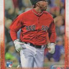 Rusney Castillo 2015 Topps Rookie #144 Boston Red Sox Baseball Card