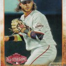 Brandon Crawford 2015 Topps Update #US346 San Francisco Giants Baseball Card