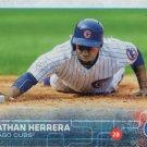 Jonathan Herrera 2015 Topps Update #US326 Chicago Cubs Baseball Card