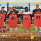 A.J. Burnett 2015 Topps Update #US343 Pittsburgh Pirates Baseball Card