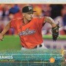 A.J. Ramos 2015 Topps Update #US195 Miami Marlins Baseball Card