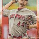 Mike Leake 2015 Topps #353 Cincinnati Reds Baseball Card