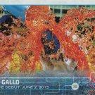 Joey Gallo 2015 Topps Update Rookie #US14 Texas Rangers Baseball Card