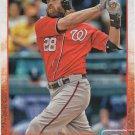 Jayson Werth 2015 Topps #6 Washington Nationals Baseball Card