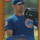 Nic Jackson 2002 Topps Rookie #324 Chicago Cubs Baseball Card